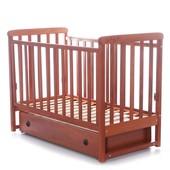 Детская кроватка Верес Соня ЛД12 маятник,ящик,лапки ольха 12.1.02