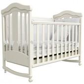 Детская кроватка Верес Соня ЛД14 белая Волна 14.4.06