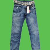 Супер цена!Модные джинсы на осень для мальчиков