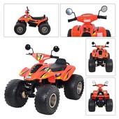 Квадроцикл детский от 5 до 9 лет, Bambi M 1714-7, цвет Оранжевый