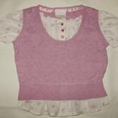 Блуза-обманка 2-в-1 Next ( 3-4 г. )