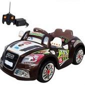 Электромобиль детский Bambi M0620, радиоуправляемый, цвет Brown