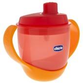 Чашка-непроливайка Chicco Meal Cup 12 м+ роз