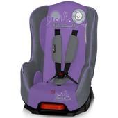 Надежное автокресло, 9-18 кг, Bertoni Pilot Grey & Violet b-zone
