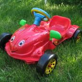 Машинка педальная, Авто педальный Хэрби для малышей. Артикул: 09-901