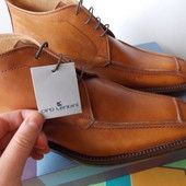 Ciro Lendini Кожаные Прошитиє Итальянские Ботинки