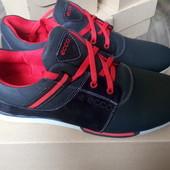 Кроссовки новые спортивные туфли кожаные 27 см стелька