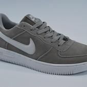 Мужские Nike Force низкие, замша