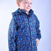 Куртка демисезонная Donilo для мальчика на флисе 80,86,92,98,104