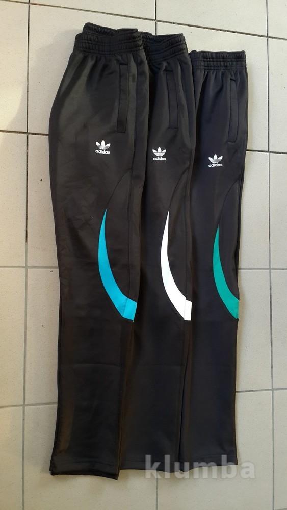 Штаны спортивные молодежные Adidas зауженные. Размеры 46-50. фото №1