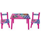 Столик Bambi Monster High м 2328 MH, цвет фиолетово-розовый