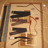 обмен или одним лотом 15 предметов .пояса,ремни,бляхи для Хенд мейд. Handmade