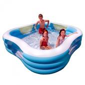 Детский надувной бассейн Intex 57495 «Акварена» 229-229-56см