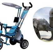 Акция Азимут Сафари трехколесный велосипед Azimut Safari bc-15а