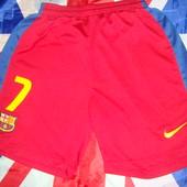 Фірмові .Оригінал спортивні шорты трусы  шорти .Nike.Ф.к .Барселона .