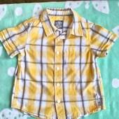 H&M Нарядная рубашка для мальчика 2 -3 года ( 92 -98)