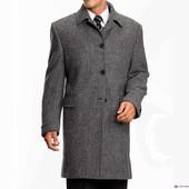 Класическое демисезонное фирменное мужское пальто Springfield