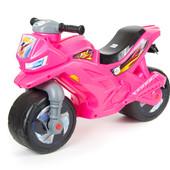 Мотоцикл Розовый орион 501 каталка для девочки новая расцветка