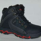 ТОМ.М арт.8692А black sports Ботинки для мальчиков зимние.