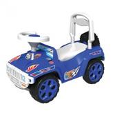 Машинка для катания синяя 419