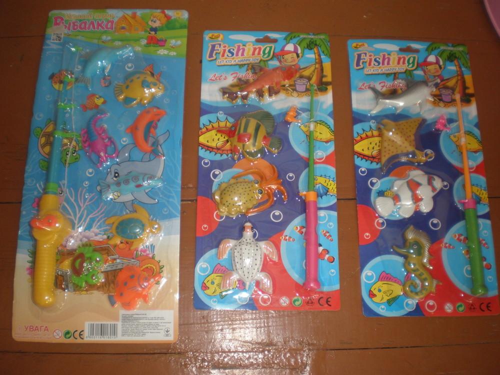 Вудочка з рибками,теніс,бульбашки,качеля нове фото №1