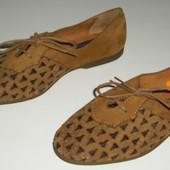 Туфельки Андреа Монтельпеа 31 розмір 19,5см нубук