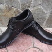 Туфли мужские. А-455. натуральная кожа