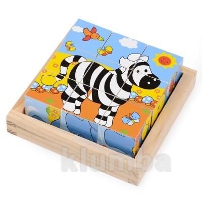 Набор кубиков «зебра», lelin артикул: 22-025 фото №1