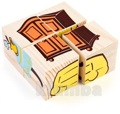 Кубики «сложи рисунок: мебель», томик артикул: 3333-5 фото №1