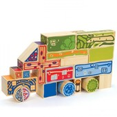Набор для конструирования «Organeco Blocks», Hape Артикул: 897716