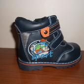 Ботинки кожаные для мальчика р21кожа стелька TM Y-Top