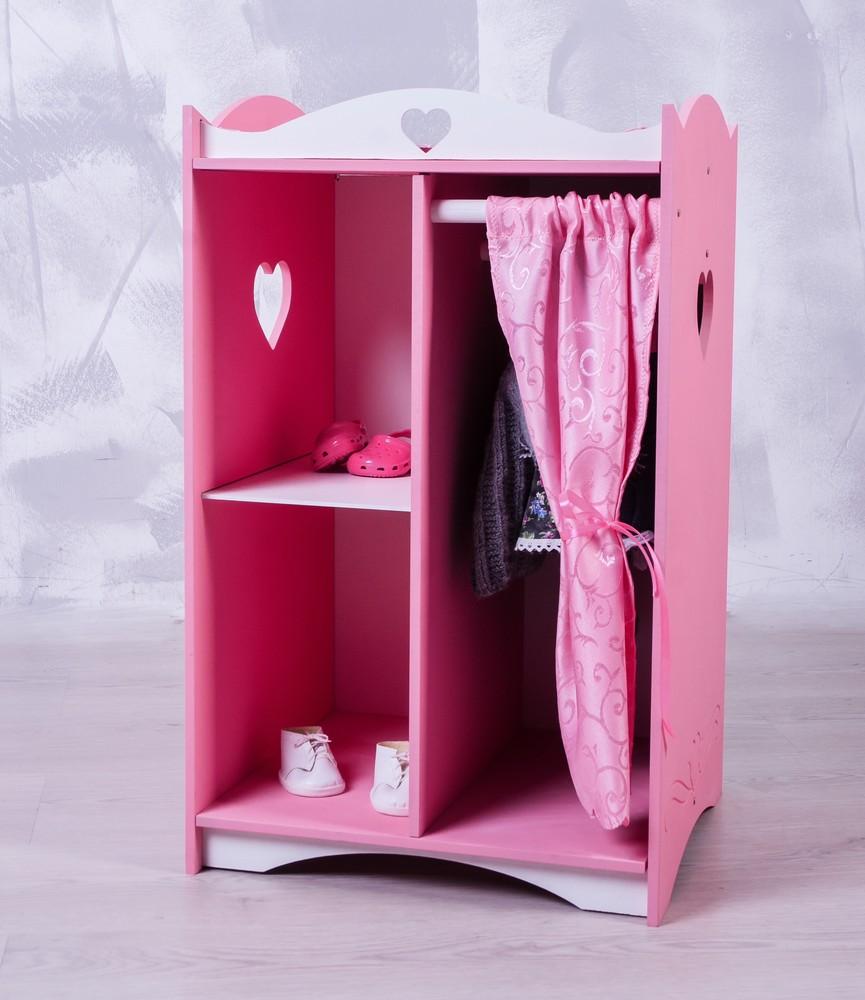 Шкафчик для кукольной одежды baby born фото №1