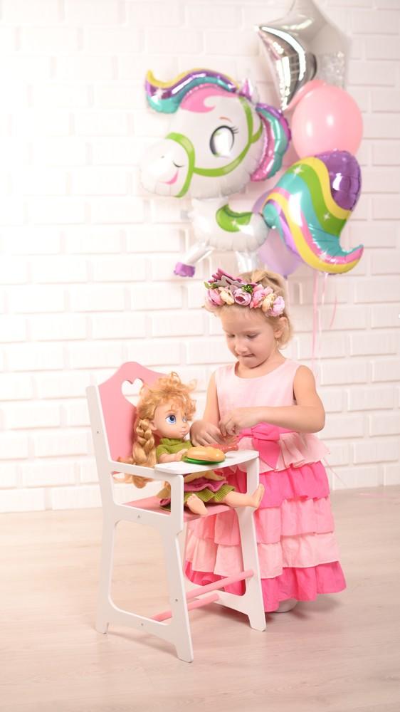 Стульчик для кормления куклы типа baby born фото №1