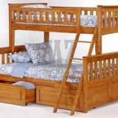 Кровать Жасмин двухъярусная ОПТ
