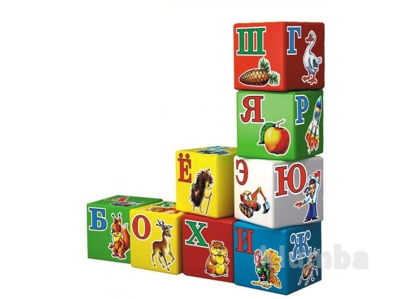 Кубики азбука технок 1974 фото №1
