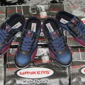 Стильные джинсовые туфли кроссовки waykers р. 30-35