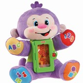 Акция! Fisher-Price Laugh and learn Apptivity Monkey