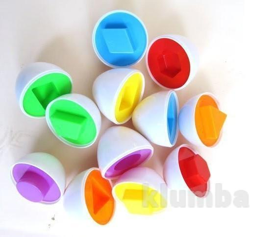"""Развивающая игрушка """"умные яйца"""" в набор входит 6 яиц. доставка уп 8 грн. фото №1"""