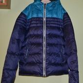 Пуховая куртка, термо пуховик  тонкий,легкий.
