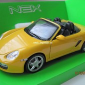 Автомодель металл Welly 1:24 Porsche Boxster S