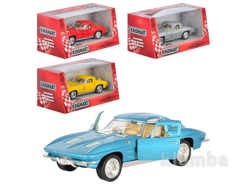 Машина corvette sting ray kt 5358 w фото №1