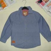 Крутая рубаха Rebel 6-7л(116-122см)Мега выбор обуви и одежды!