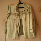 Куртка мужская демисезонная-50-54 р-ры.Много карманов.