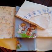 Постельное бельё для деток хб бу