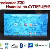 Планшет навигатор Freelander Z20 gps, ips, 2 ядра, 2sim/3G Bt! +автокомплект!