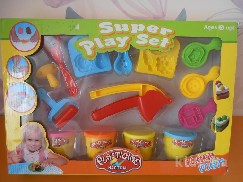 Набор форм для лепки play set, б/у фото №1