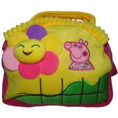 Плюшевая сумочка Свинка Пеппа