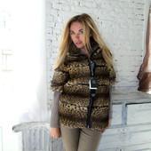 Модная супер куртка из меха камышового кота