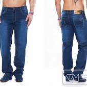 W1176 Стильные мужские джинсы 32-40 рр