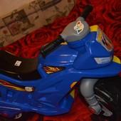 Каталка Спортивный мотоцикл. Толокар. Байк